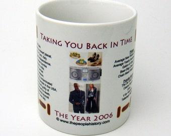 2006 Year In History Coffee Mug
