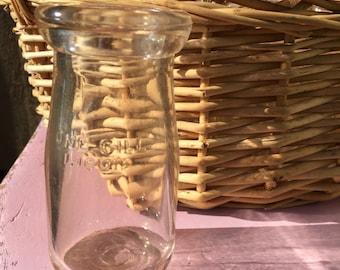Vintage Farmhouse Milk Glass