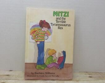 Mitzi and the Terrible Tyrannosaurus, 1982, Barbara Williams, vintage kids book