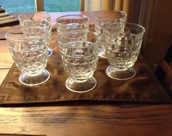 "4 1/4"" Drinking Glasses. Set of 6."