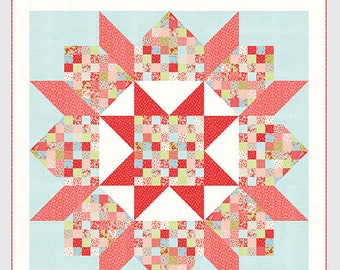 Patchwork Swoon Quilt Pattern - Thimble Blossoms #200 - Camille Roskelley