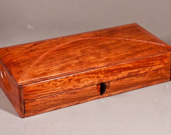 """Jewelry box - """" DUCHESS"""" -  in Bubinga wood"""