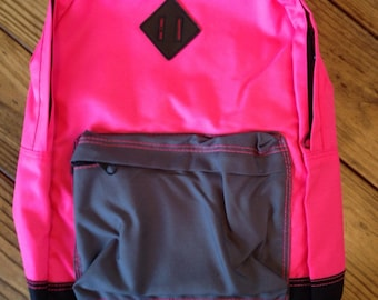 Youth/Kids Backpack Custom/Personalized Neon Color