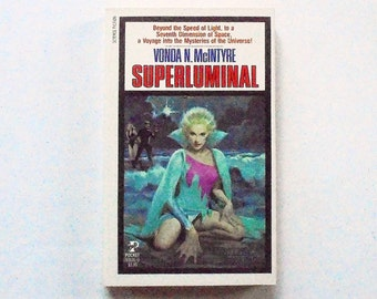 SUPERLUMINAL: Vonda N. McIntyre Science Ficiton 1984, Pocket Vintage Paperback Book 1st Print