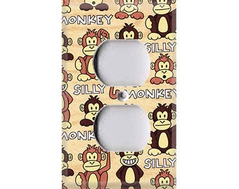 Silly Monkey Outlet Cover
