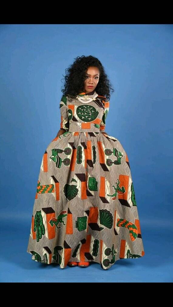 NEW Vintage Emem Maxi Dress