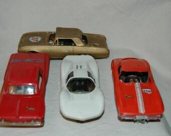 Vintage Eldon Slot Cars