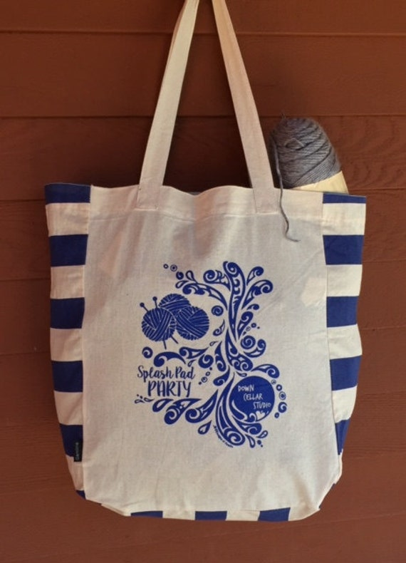 EXCLUSIVE Splash Pad Party Tribal Tattoo Origins Cotton Tote Bag