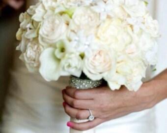 Set of 2 Bouquet Wrap,Wedding Best Seller Bracelet,Rhinestone Bridal Bracelet,Bridesmaid Bracelet,Bridal Beaded Crystal Bouquet Wrap