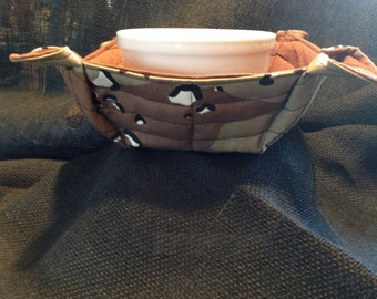 Camo Microwave Bowl Cozy