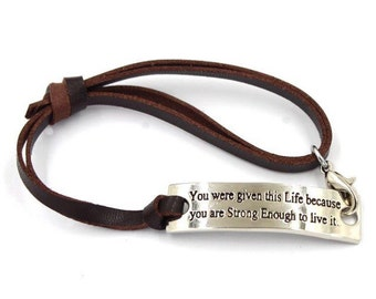 you were given this life bracelet