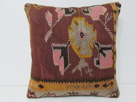 Southwestern Style Pillows : southwestern pillow 18x18 bohemian style by DECOLICKILIMPILLOWS
