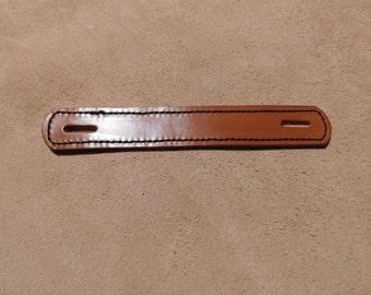 Steamer Trunk Strap Handle, Leather Single layer