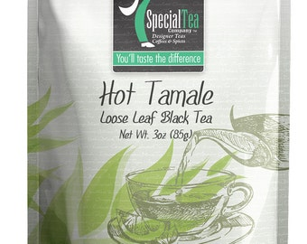 3 oz. Hot Tamale Black Tea with Free Tea Infuser