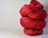 Tussah Silk Lace - Cherry - Laceweight 984 yds / 100 g - 100% Silk