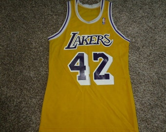 24fa247d7 uk lakers 42 james worthy stitched purple throwback nba jersey 32dd1 72ecb