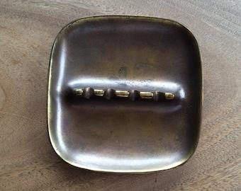 Ben Seibel Brass Plated Ashtray For Jenfred-ware