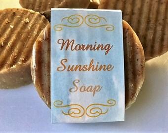 Morning Sunshine Soap