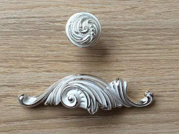 Decorative Bin Pulls : Bin cup dresser pull drawer pulls handles knobs