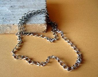 Vintage Designers Silver Chain.