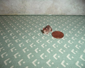 1:12 scale Dollhouse Miniature cat