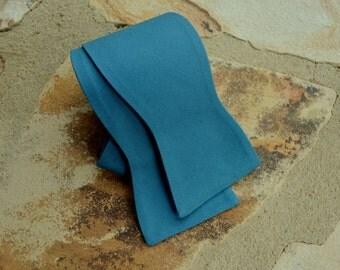 teal bow tie/teal blue cotton bow tie/vintage bowtie