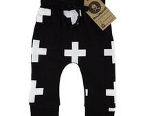 Cross baby leggings