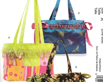 Easy Stitch 'n Save by McCall's TOTES Pattern 5164