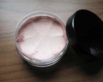 Natural Mineral Blush for All Skin Types 5 gram Vegan Non Nano Non GMO Organic Ingredients Matte Sheer Shimmer Finish Custom Orders Welcome
