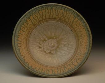 Handmade Stoneware Bowl. Wheel Thrown. Functional