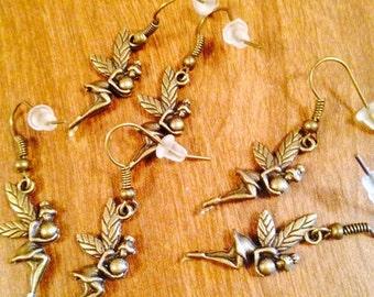 Fairy In Flight Earrings