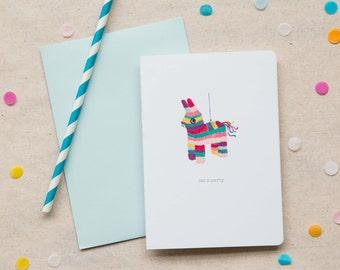 Birthday Card  |  Piñata