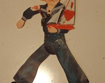 Rare Sailor Boy Valentine