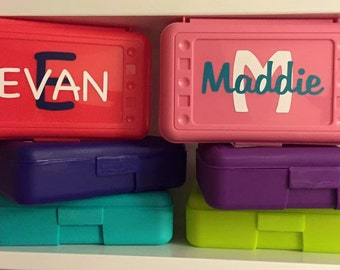 Custom pencil boxes!  Can be modified
