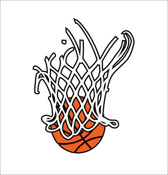 basketball net clipart free - photo #48