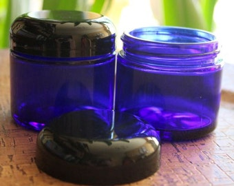 Cobalt Blue Jar - 2 Ounce