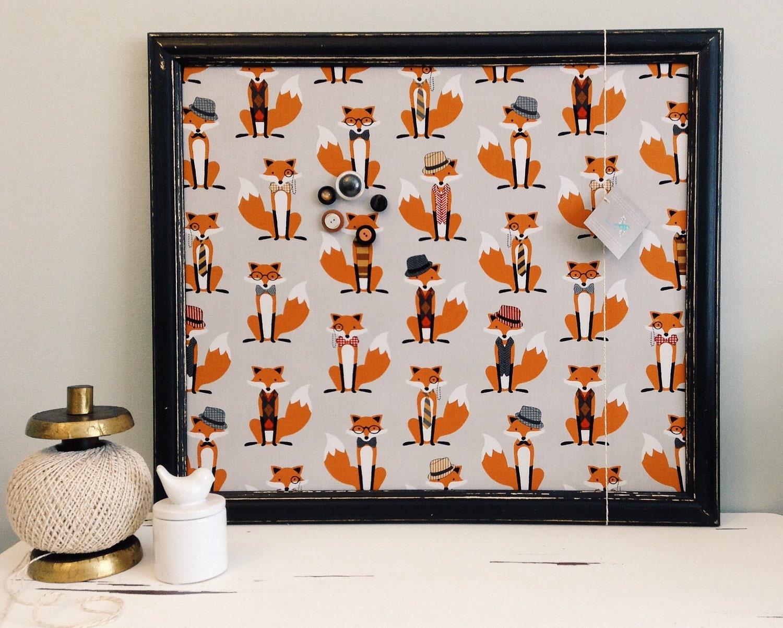 tableau d 39 affichage babillard aimant recouvert tissu de. Black Bedroom Furniture Sets. Home Design Ideas