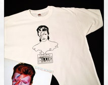 Music Legends: David Bowie T Shirt