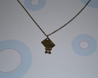 Bronze Letter Pendant