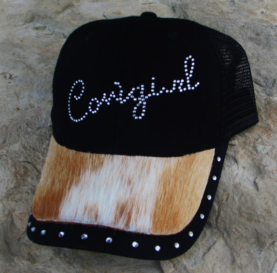 Cowgirl, Hair on Hide, Trucker Cap