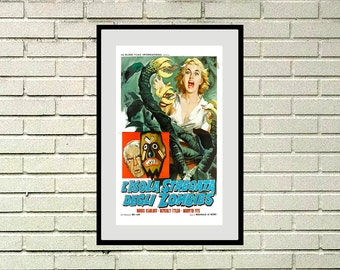 Reprint of Vodoo Island Vintage Movie Poster