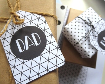 Father's Day Gift Tags/ Dad Gift Tags - FDGT01