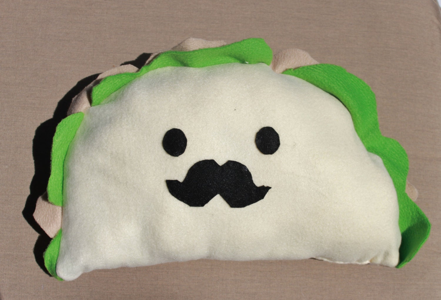 Stuffed Animal Dog Pillow : Funny Jumbo Taco Taco Pillow Large Stuffed Animal Taco