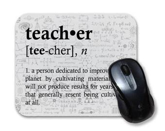 Teacher Definition- Mouse Pad