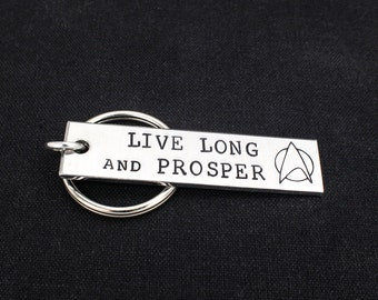Live Long And Prosper Keychain