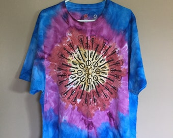 Jam Mandala Tie Dye T-Shirt XL