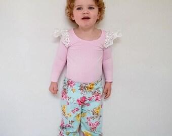 Carly Floral Harem Pants