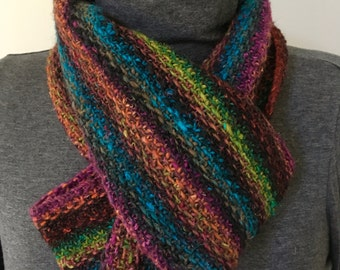 Autumn Brights infinity scarf