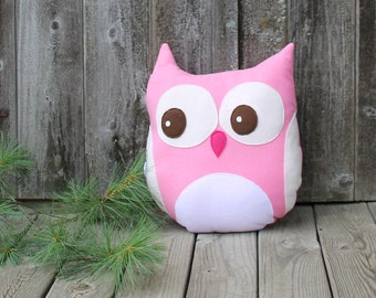 Woodland nursery girl - Custom Colors - Woodland nursery - Coral the Owl