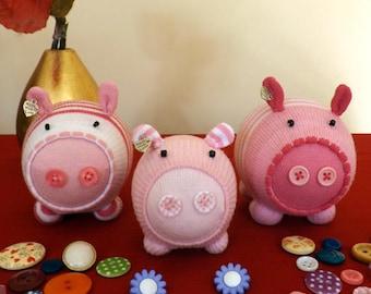 Baby Sock Pigs